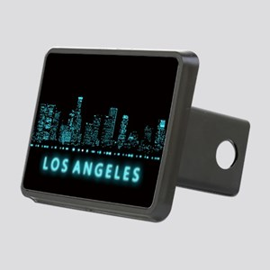 Digital Cityscape: Los Ang Rectangular Hitch Cover