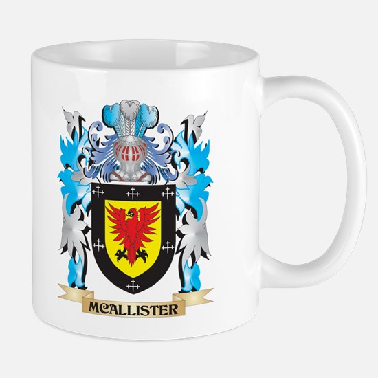 Mcallister Coat of Arms - Family Crest Mugs