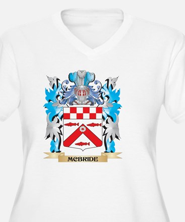 Mcbride Coat of Arms - Family Cr Plus Size T-Shirt