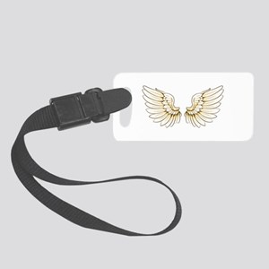 wings Small Luggage Tag
