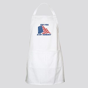 RON PAUL is my homeboy BBQ Apron