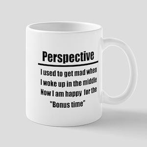 Perspective: Bonus Time Mugs