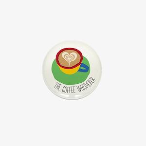 The Coffee Whisperer Mini Button