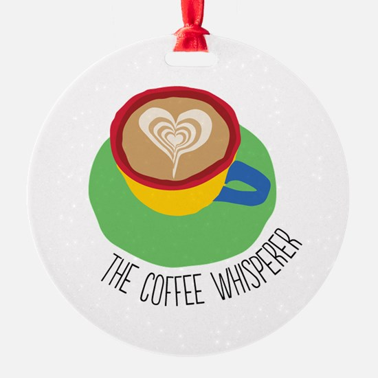 The Coffee Whisperer Ornament