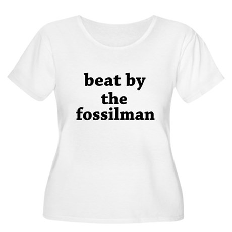 the fossilman Women's Plus Size Scoop Neck T-Shirt
