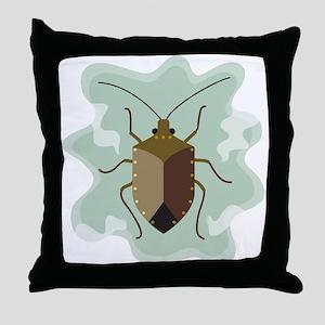 Stinkbug Throw Pillow