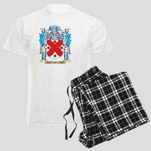 Mcfarland Coat of Arms - Fami Men's Light Pajamas