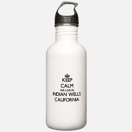 Keep calm we live in I Water Bottle