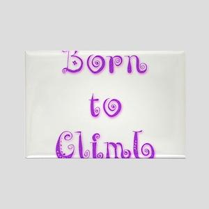 Born To Climb 5 Rectangle Magnet