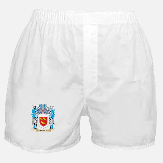 Mcgill Coat of Arms - Family Crest Boxer Shorts