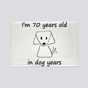 10 dog years 6 - 2 Magnets