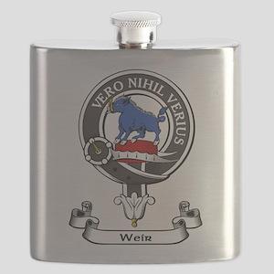 Badge-Weir Flask