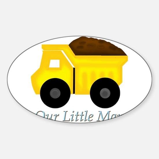 Our Little Man Dump Truck Decal