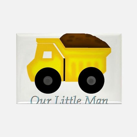 Our Little Man Dump Truck Magnets