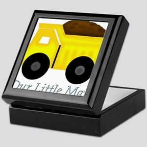 Our Little Man Dump Truck Keepsake Box