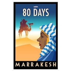 80 Days Marrakesh Poster Art