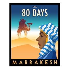 80 Days Marrakesh Poster Design