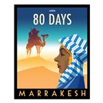 80 Days Marrakesh Small Poster