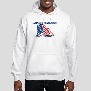 MICHAEL BLOOMBERG is my homeb Hooded Sweatshirt