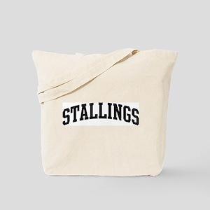 STALLINGS (curve-black) Tote Bag