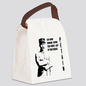 Petain Canvas Lunch Bag
