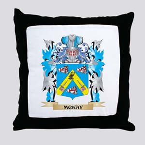 Mckay Coat of Arms - Family Crest Throw Pillow