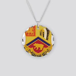 83 Field Artillery Regiment. Necklace Circle Charm
