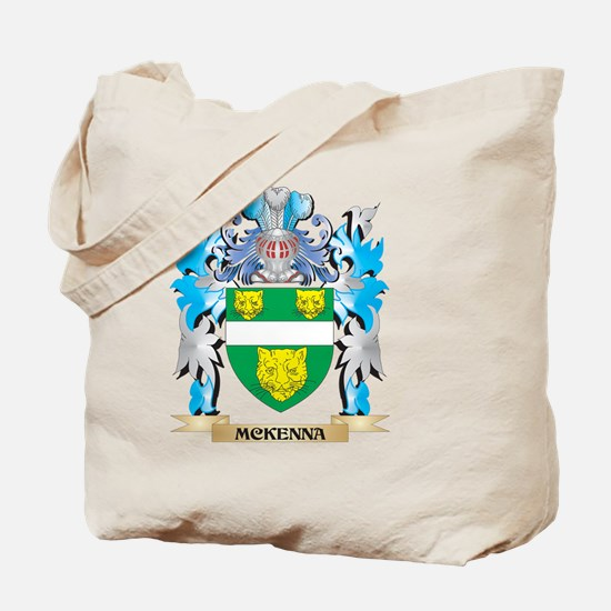Mckenna Coat of Arms - Family Crest Tote Bag