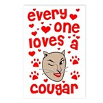 Everyone Loves a Cougar Postcards (Package of 8)