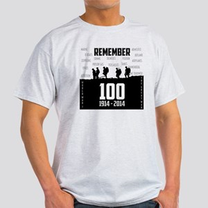 World War I Remembrance Light T-Shirt