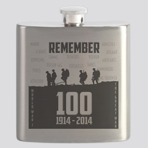 World War I Remembrance Flask