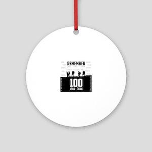 World War I Remembrance Round Ornament