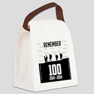 World War I Remembrance Canvas Lunch Bag