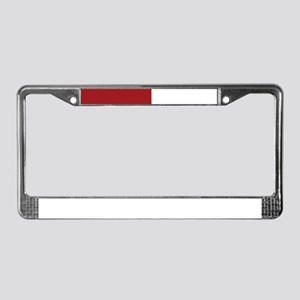 Love Flower License Plate Frame