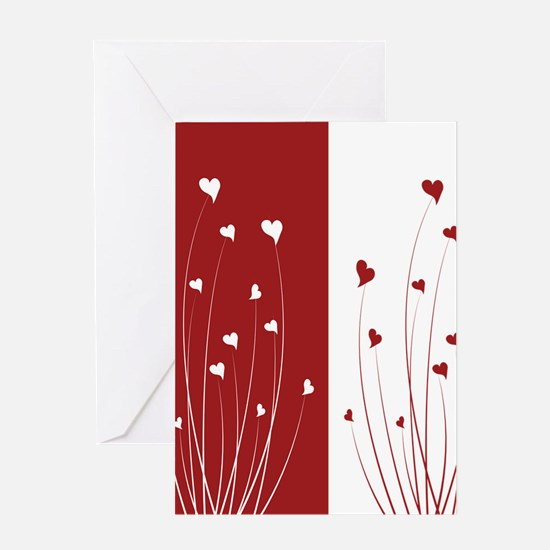 Love Flower Greeting Cards