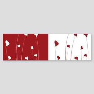 Love Flower Bumper Sticker