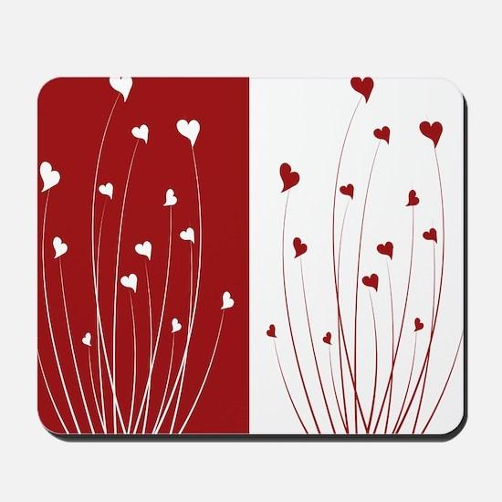 Love Flower Mousepad