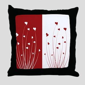 Love Flower Throw Pillow