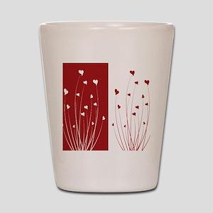 Love Flower Shot Glass