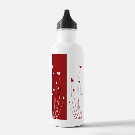 Love Flower Water Bottle