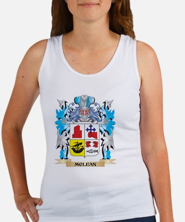 Mclean Coat of Arms - Family Crest Tank Top
