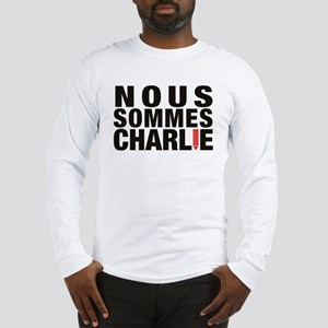 Nous Sommes Charlie Long Sleeve T-Shirt