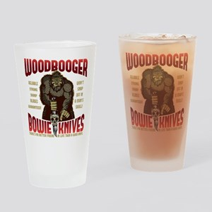 Woodbooger Bowie Knives Drinking Glass