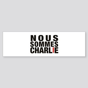Nous Sommes Charlie Bumper Sticker