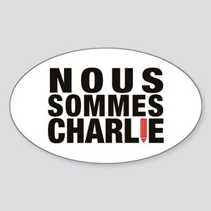 Nous Sommes Charlie Sticker