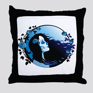 Lady Death Throw Pillow