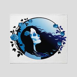 Lady Death Throw Blanket