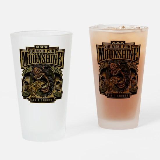 Squatch Puke Hillbilly Moonshine Drinking Glass
