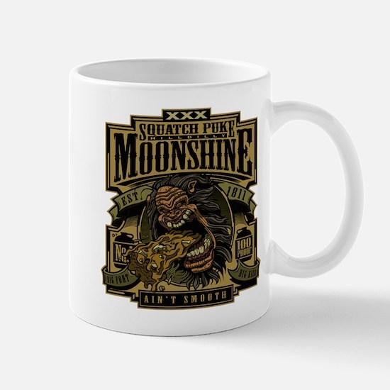 Squatch Puke Hillbilly Moonshine Mugs