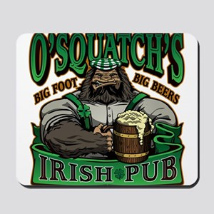 OSquatchs Irish Pub Mousepad